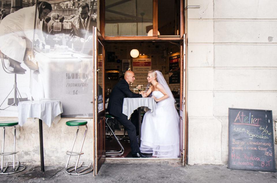 Ela i Tomek - sesja poślubna w Krakowie