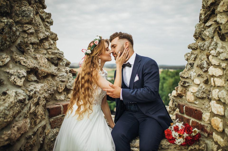 Plener ślubny Alicji i Dawida w Ogrodzieńcu