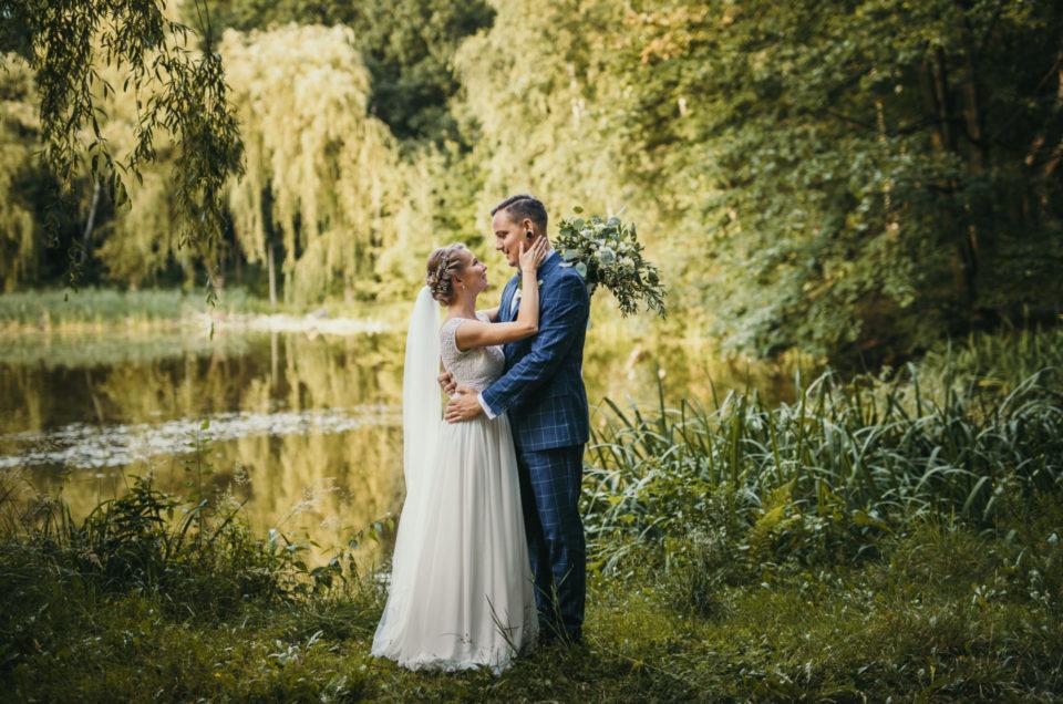 Sesja ślubna w Parku Śląskim - Sonia i Patryk